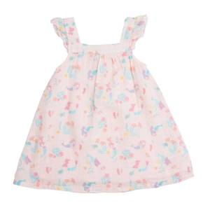 Angel Dear Pink Mermaids Sundress