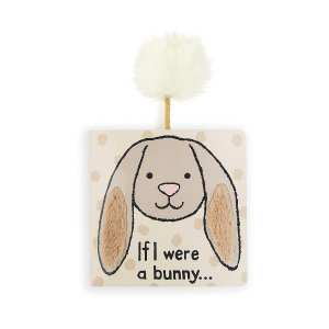 Jellycat If I Were A Bunny Board Book - Beige