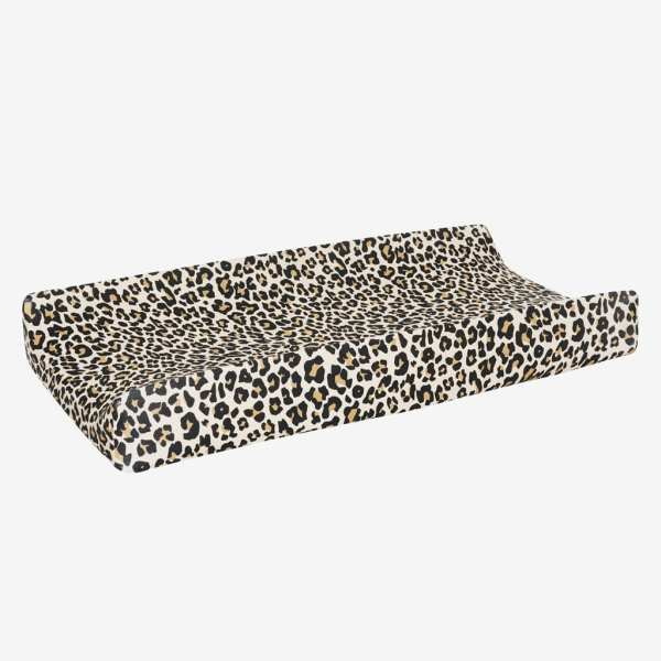 Posh Peanut Lana Leopard Changing Pad Cover