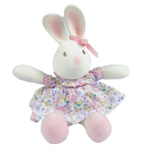 Tikiri Toys Havah the Bunny - Mini Rubber head Plush Toy