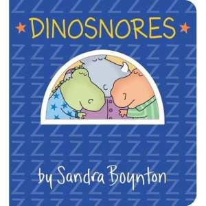 Dinosnores Board Book