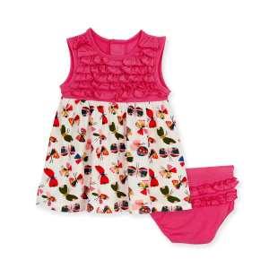 Magnetic Me Flitter Flutter Dress & Diaper Cover