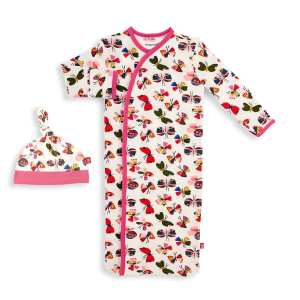 Magnetic Me Flitter Flutter Magnetic Sack Gown and Hat Set