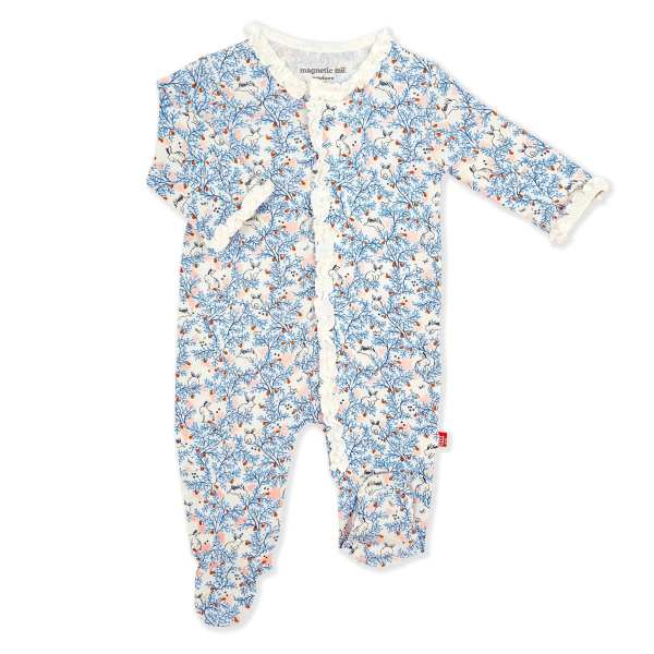 Magnetic Me Somebunny Floral Footie