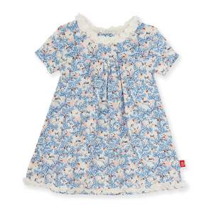 Magnetic Me Somebunny Floral Toddler Dress
