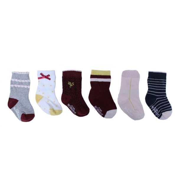 Robeez Socks Dahlia 6-Pack