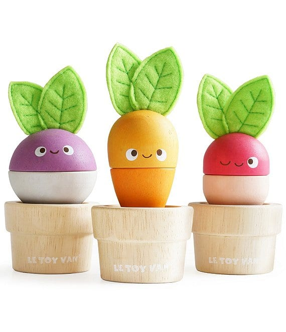 Le Toy Van Wooden Stacking Veggies
