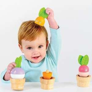 Le Toy Van Wooden Stacking Veggies