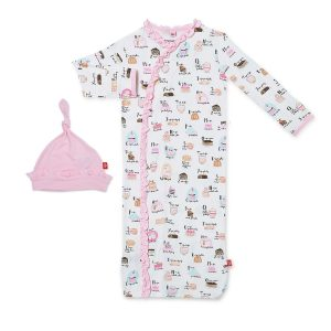 Magnetic Me Cake My Day Magnetic Sack Gown and Hat Set