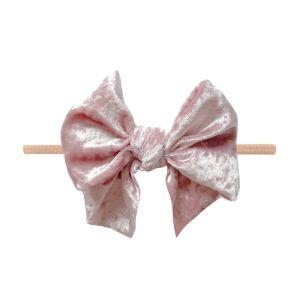 Baby Bling Velvet Lil' Fab Skinny - Crushed Ballet Pink
