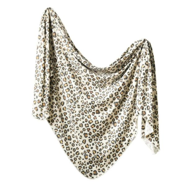 Copper Pearl Zara Knit Swaddle Blanket