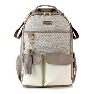 Itzy Ritzy Vanilla Latte Boss Backpack Diaper Bag