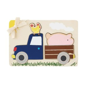 Mud Pie Wooden Puzzle - Pickup Truck Farmhouse