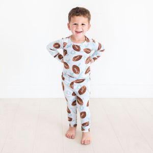 Posh Peanut Field Day Long Sleeve Basic Pajamas