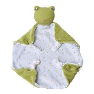 Tikiri Toys Gemba the Frog - Baby Comforter and Teether
