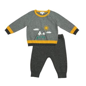 Angel Dear Mountains Sweater Set