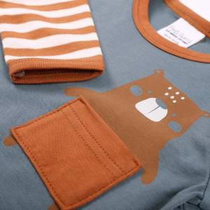 Fred's World Bears Layered T-shirt with Long Sleeves