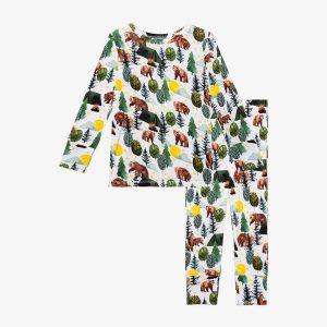 Posh Peanut Archer Long Sleeve Basic Pajamas
