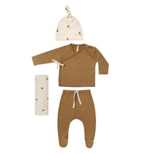 Quincy Mae Walnut Welcome Home Baby Set