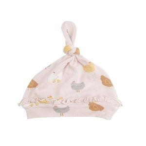 Angel Dear Chickens Knotted Hat - Pink