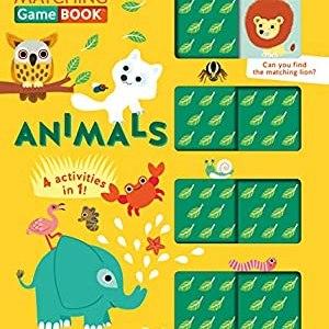 Animals Matching Game Book