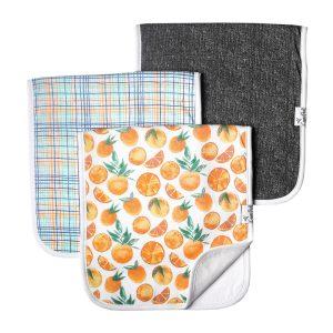 Citrus Burp Cloth Set