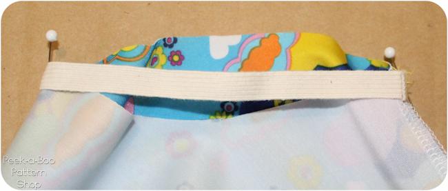 sewing swimsuit elastic