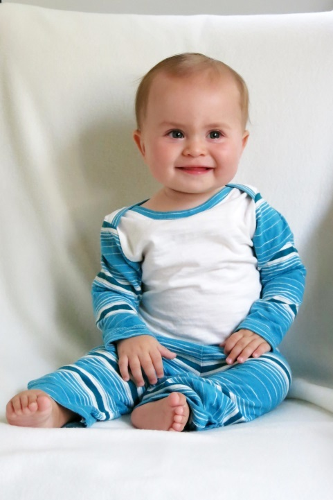 Gratuitous adorable baby photo. I'm his aunt, I can brag. ;)