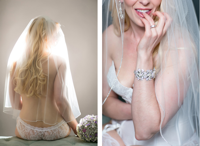 Bridal Boudoir by Peekaboo Portland Photography