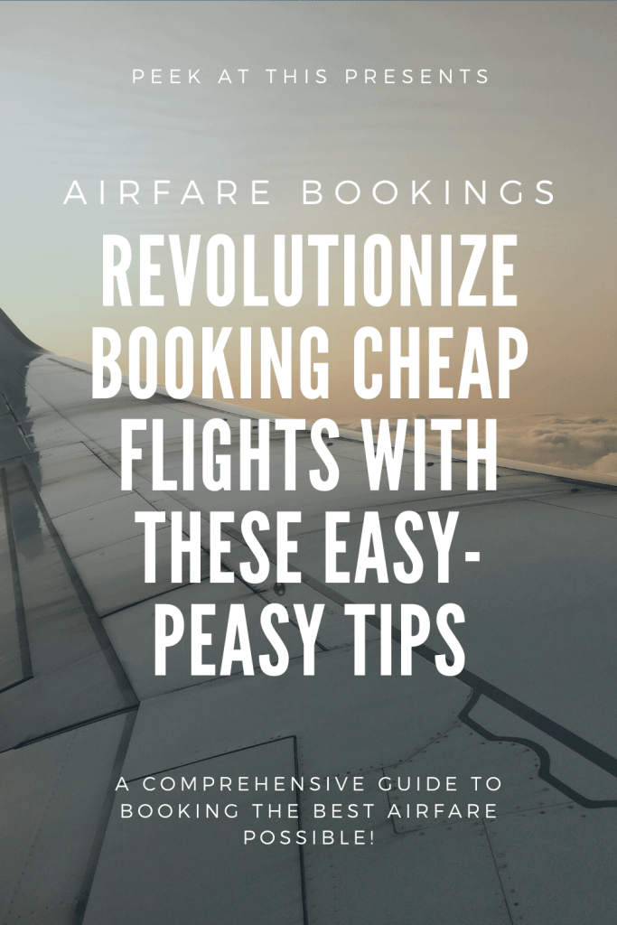 Revolutionize BOOKING CHEAP FLIGHTS With These Easy-peasy Tips