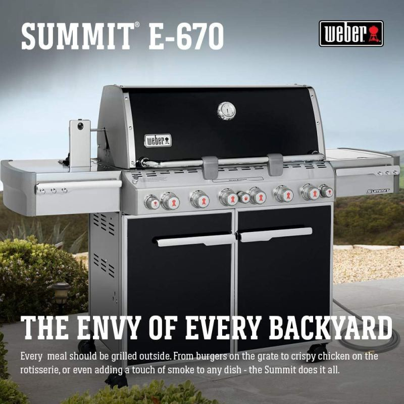 my weber summit e-670 natural gas grill review