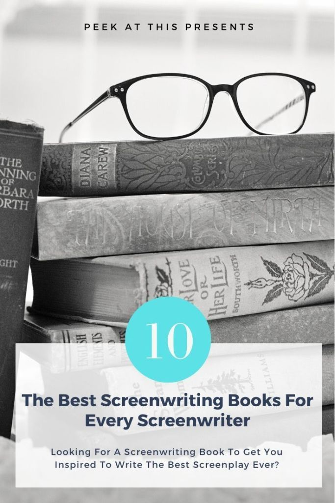 The Best Screenwriting Books On Amazon