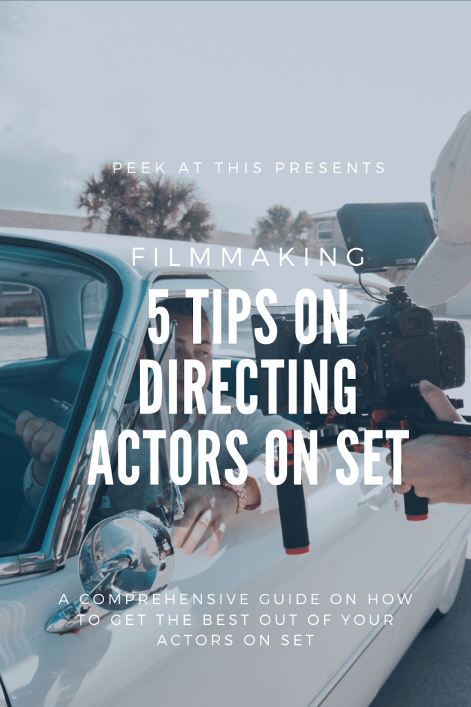 5 Ways To Help Improve Your Skills in Directing Actors