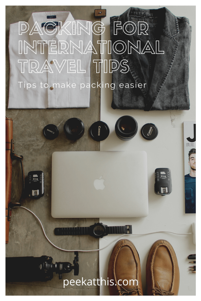 Packing For International Travel – Amazing Tips And Tricks 2021 2