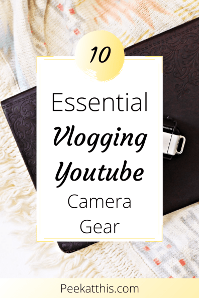 10 Essential Vlogging Youtuber Camera Gear On Amazon