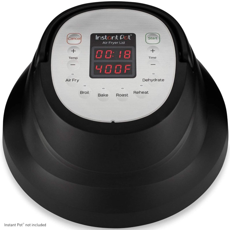 Instant Pot Air Fryer Lid 6 in 1, for the Pressure Cooker,6 Qt, 1500W