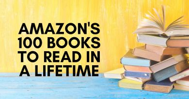 Amazon's 100 Books to Read in a Lifetime