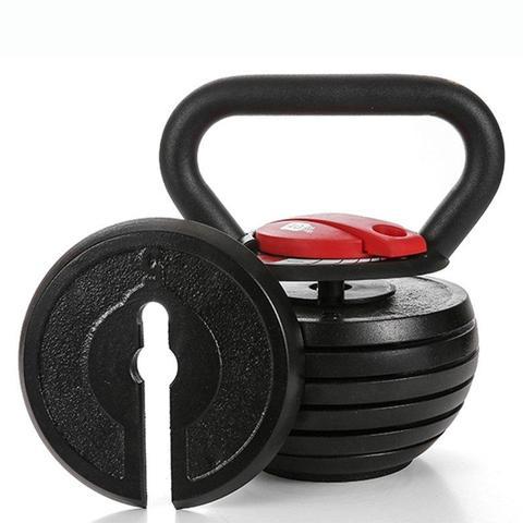 """Toughest Gains"" Adjustable Kettlebell - 10 - 40 lbs Fitness Gift Ideas"