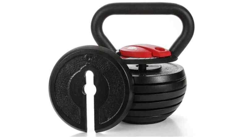"""Toughest Gains"" Adjustable Kettlebell"