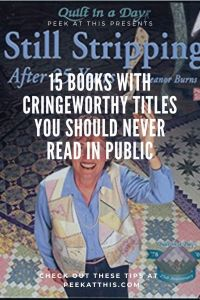 15 Books With Cringeworthy Titles You Should Never Read In Public