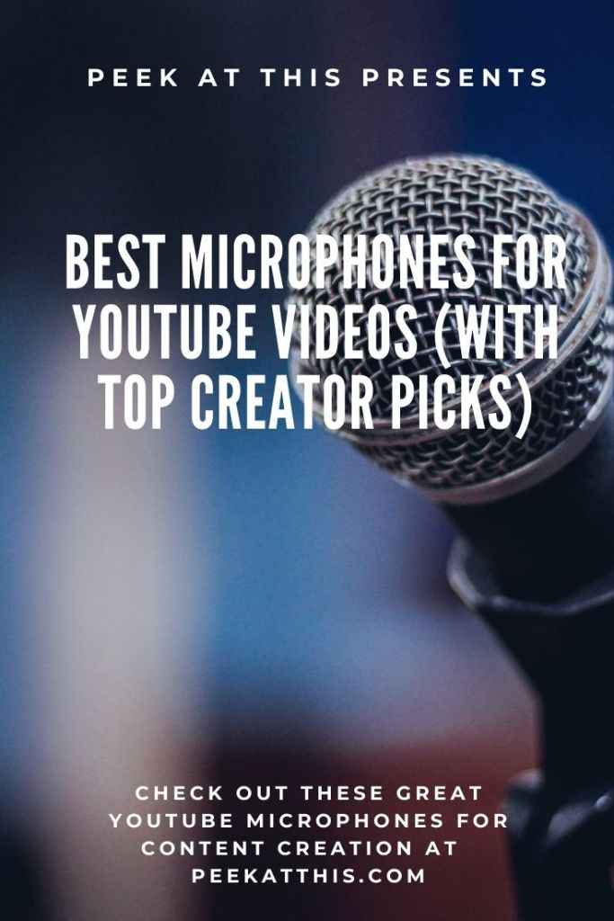 Best Microphones For YouTube Videos With Top Creator Picks