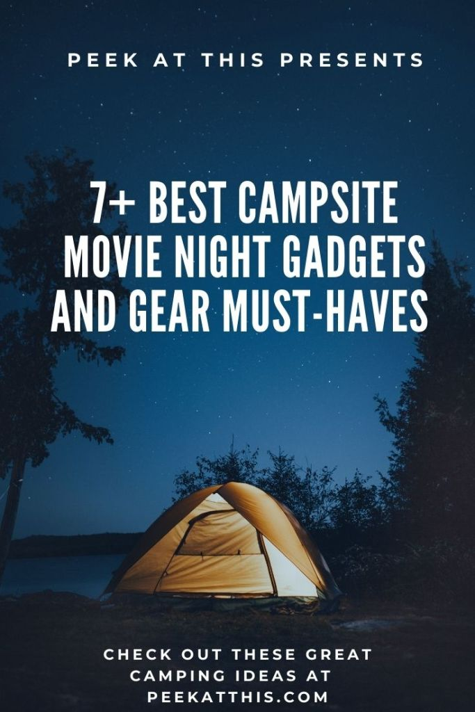 Campsite Movie Night