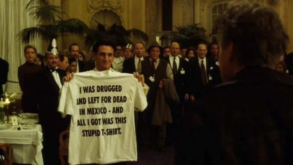 The Game - I Was Drugged And Left For Dead In Mexico movie t-shirt