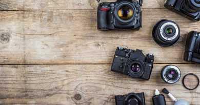 cinematic camera lens