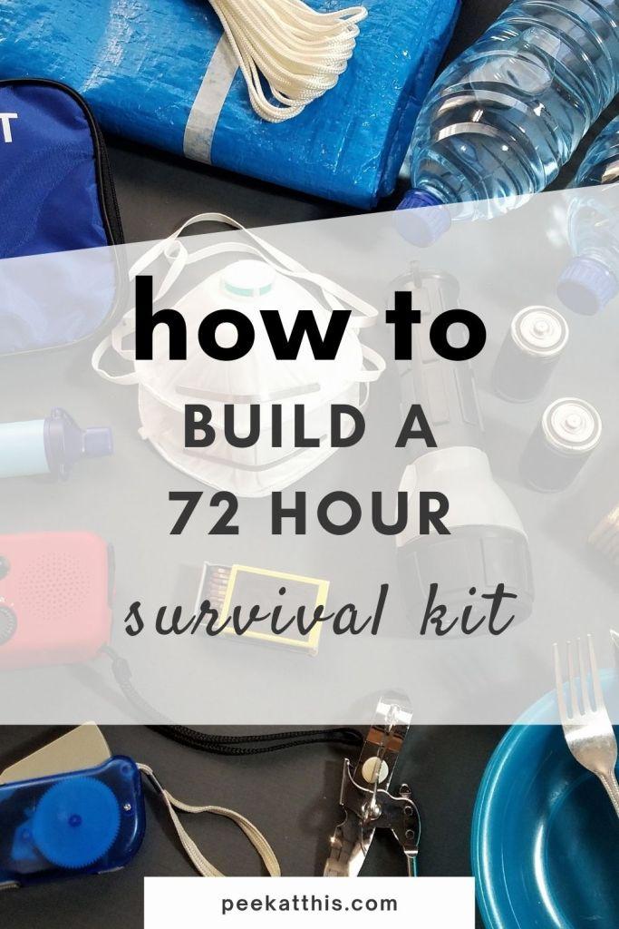 Urban 72 Hr Survival Kit