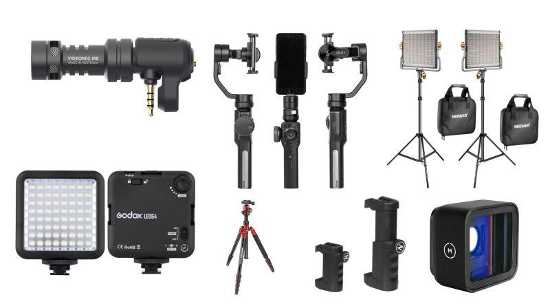 Smartphone Camera Accessories - 10+ Best for Video Creators