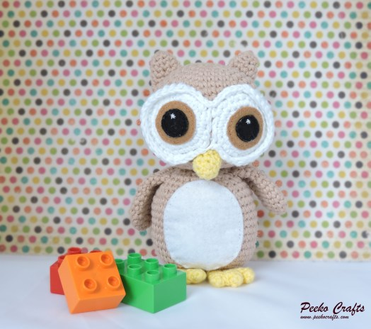 Oliver the Wide-Eyed Owl