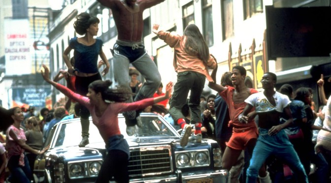 Movie still from Fame, 1980. Playing at Peekskill's Paramount Hudson Valley.