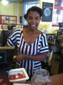 Sydnee Farr_barista Peekskill Coffee House