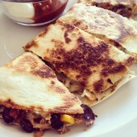 Perfect Chicken Quesadillas